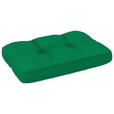 vidaXL Dyna till pallsoffa grön 60x40x12 cm