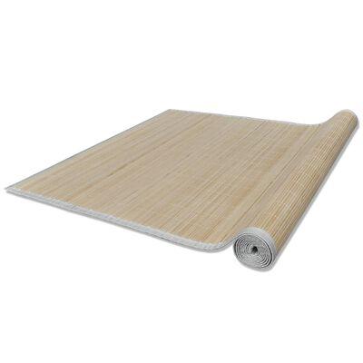 vidaXL Bambumatta 100x160 cm naturlig
