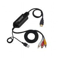 AV konverter till HDMI - RCA/komposit till HDMI