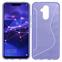 S Line silikon skal Huawei Mate 20 Lite (SNE-LX1) Lila