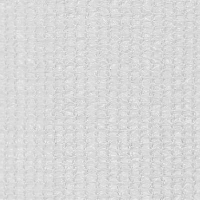 vidaXL Rullgardin utomhus 140x230 cm vit