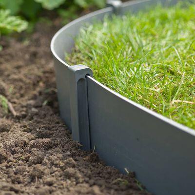 Nature Peggar till trädgårdsbåge 10 st grå liten