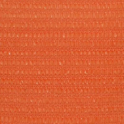 vidaXL Solsegel 160 g/m² orange 2,5x4,5 m HDPE