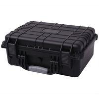 vidaXL Skyddande utrustningsväska 40,6x33x17,4 cm svart