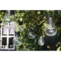 Luxform Partyslinga med 10 LED-lampor Menorca batteridriven
