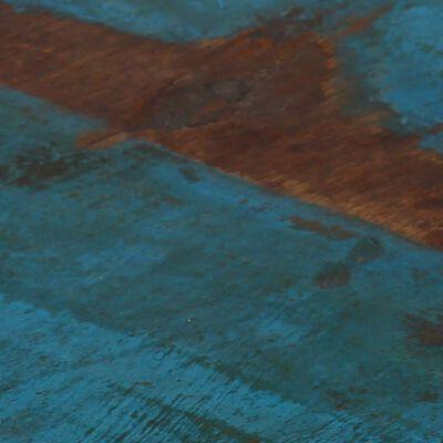 vidaXL Barstolar 4 st massivt återvunnet trä