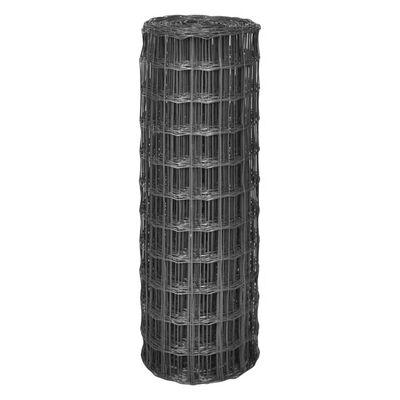 vidaXL Eurofence stål 10x1,2 m grå
