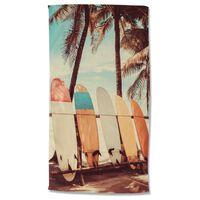 Good Morning Badlakan VINTAGE SURF 100x180 cm flerfärgat