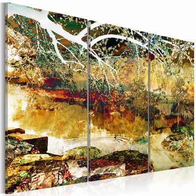 Tavla - Lake Of Illusions - 60x40 Cm