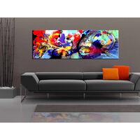 Tavla - Colourful Immersion - 135x45 Cm