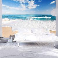 Fototapet - Sea Waves - 250x175 Cm