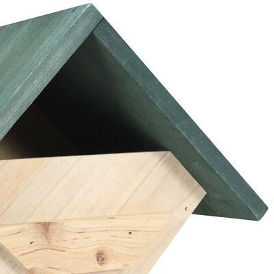 vidaXL Fågelholkar 4 st 24x16x30 cm granträ