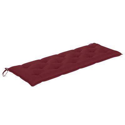 vidaXL Hammockdyna vinröd 150 cm tyg