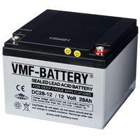VMF AGM Djupurladdningsbatteri 12 V 28 Ah DC28-12