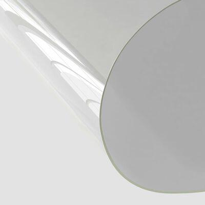 vidaXL Bordsskydd genomskinlig 160x90 cm 2 mm PVC