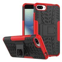 Stöttåligt skal med ställ Asus Zenfone 4 Max (ZC554KL) Röd