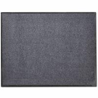 vidaXL Dörrmatta PVC 90 x 150 cm grå