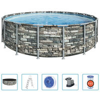 Bestway Power Steel pool 549x132 cm
