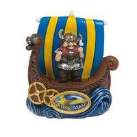 Magnet Souvenir Vikingskepp Viking som äter