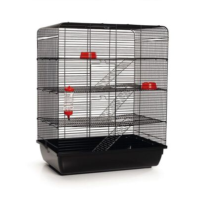Beeztees Råttbur Remy svart 58x38x71 cm 266815