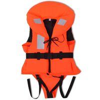 vidaXL Räddningsväst för barn 100 N 20-30 kg