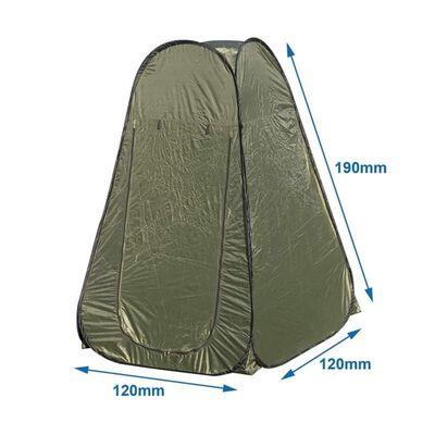 ProPlus Pop-up duschtält polyester grön
