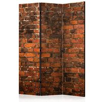 Rumsavdelare - Old Brick Wall   - 135x172 Cm