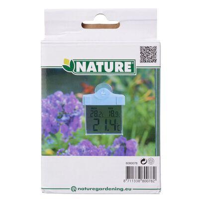 Nature Digital fönstertermometer 13x10x3 cm 6080078