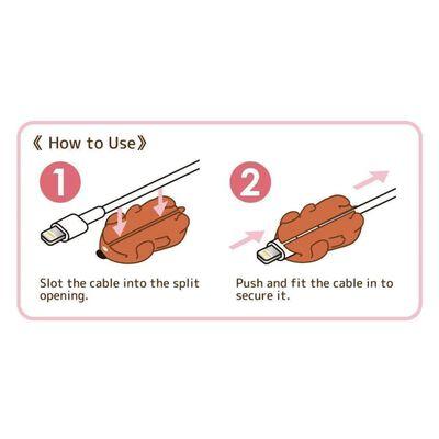 Animal Cable Bites - Skyddar din iPhone kabel Kabelskydd