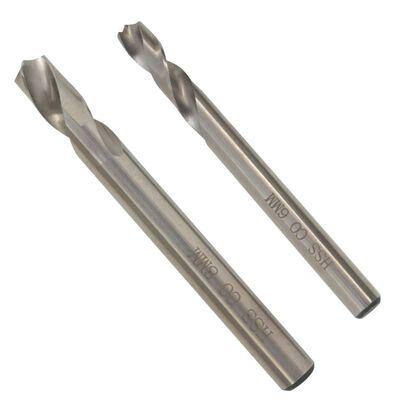 vidaXL Punktsvetsborr set 2 delar 6/8 mm HSS