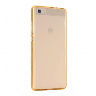 360° heltäckande silikon skal Huawei P8 Lite 2015 (ALE-L21) Guld