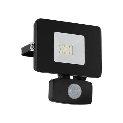 EGLO Utomhusvägglampa LED Faedo 3 10W 11x5x13,5 cm svart