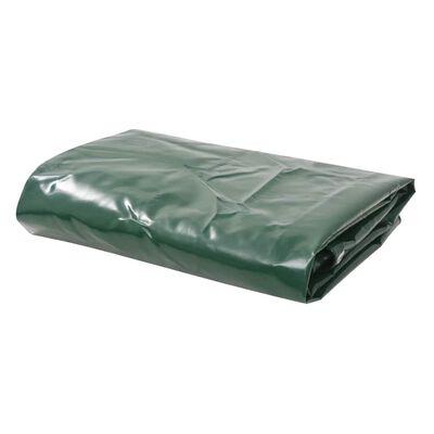 vidaXL Presenning 650 g/m² 2x3 m grön