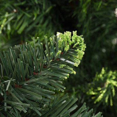 vidaXL Plastgran med kottar grön 210 cm