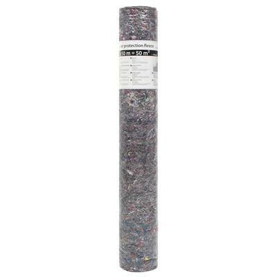 vidaXL Målarmatta halkfri 2 st 50 m 180 g/m² grå
