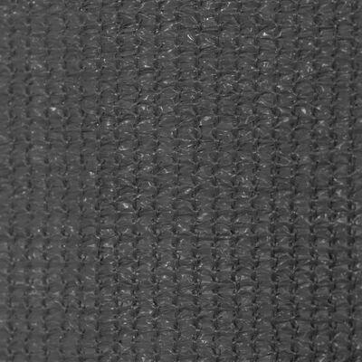 vidaXL Rullgardin utomhus 350x230 cm antracit