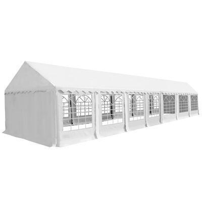 vidaXL Tälttyg 6x14 m vit, White