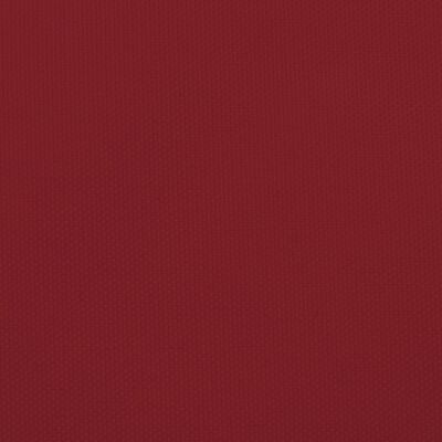 vidaXL Solsegel oxfordtyg trekantigt 4,5x4,5x4,5 m röd