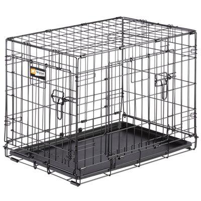 Ferplast Hundbur Dog-Inn 60 64,1x44,7x49,2 cm grå