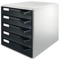 Leitz Förvaringsenhet 5 lådor svart