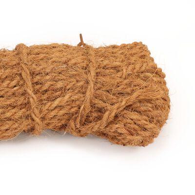 vidaXL Rep i kokosfibrer 8-10 mm 200m