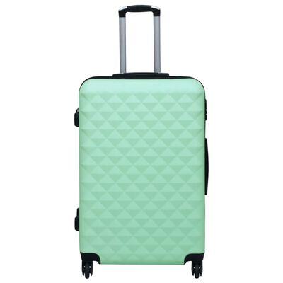 vidaXL Hårda resväskor 2 st mintgrön ABS