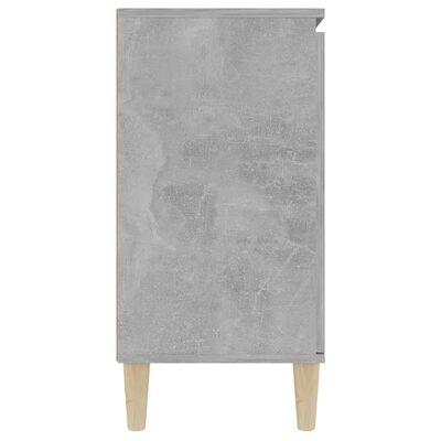 vidaXL Skänk betonggrå 103,5x35x70 cm spånskiva
