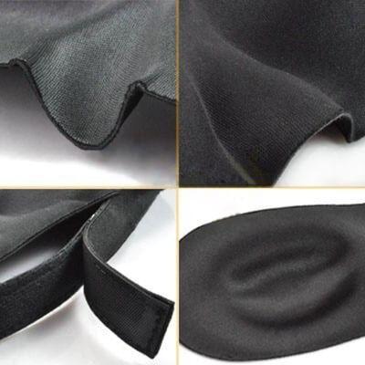 Sovmask 3D foam lyxig skön Lila