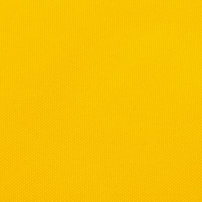 vidaXL Solsegel oxfordtyg fyrkantigt 2x2 m gul