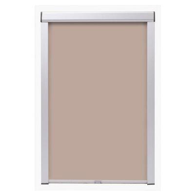 vidaXL Mörkläggande rullgardin beige M04/304