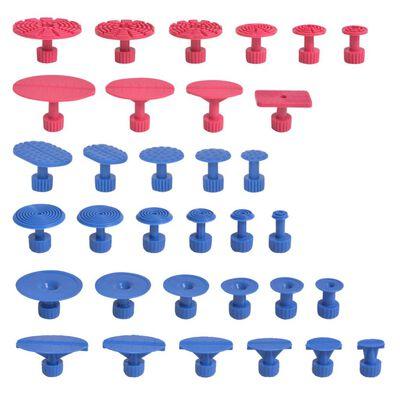 vidaXL 87-delars Repareringskit för bucklor rostfritt stål