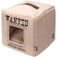 D&D Husdjursbädd Wanted 40x40x40 cm beige 671/432310