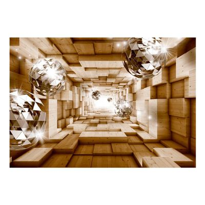 Fototapet - The Road To The Light - 350x245 Cm