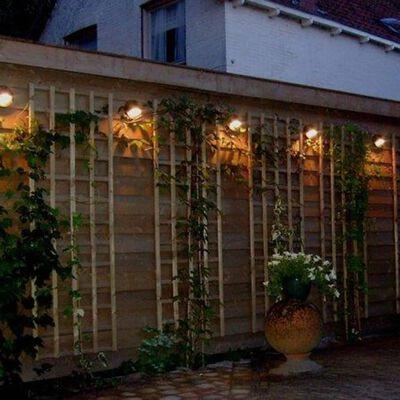 Luxform Trädgårdslampa LED Stanley 12V
